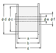 定荷重ばねCR型 ドラムBタイプ図